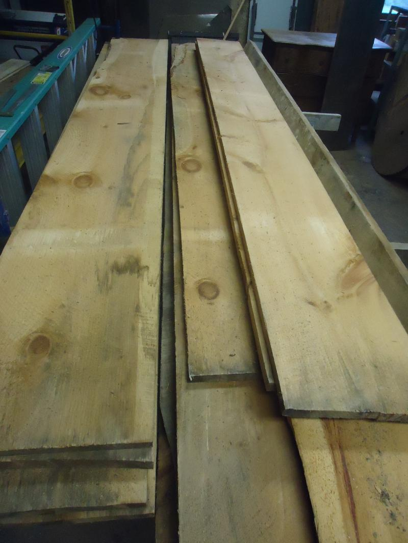 Rough sawn pine