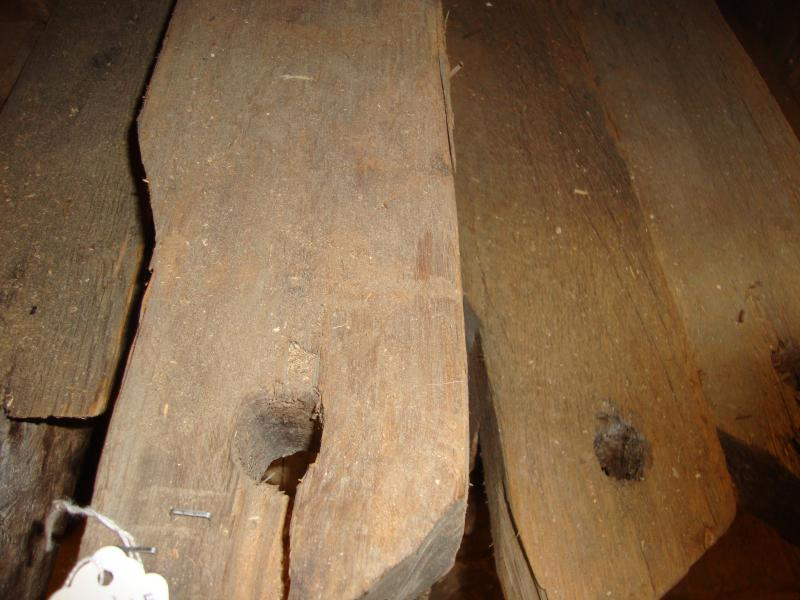 4x5 Clear Pine Rafters c.1791 $10/lineal foot